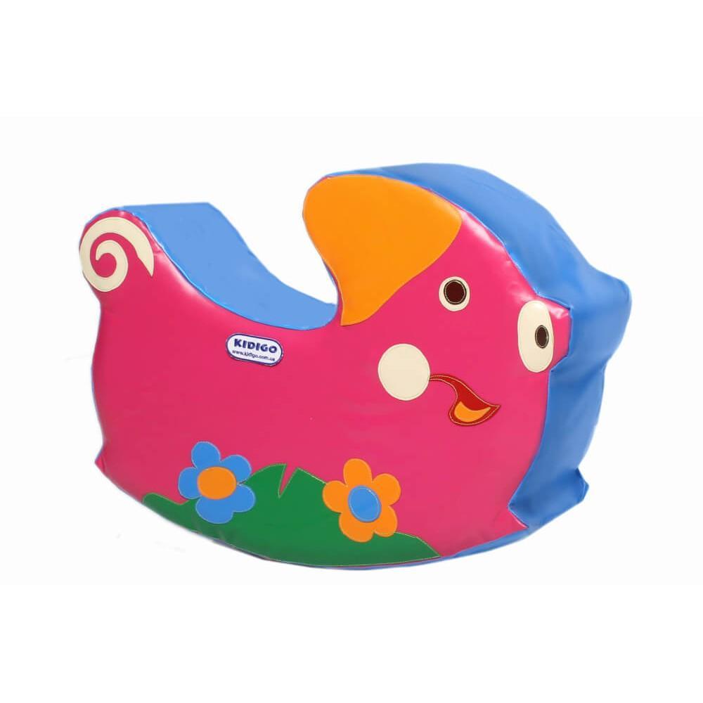 """Дитяча гойдалка """"Свинка"""" Kidigo"""