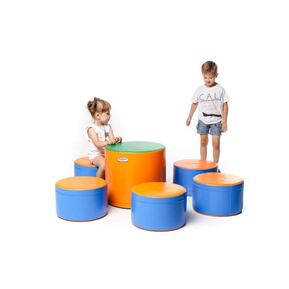 """Комплект м'яких ігрових дитячих меблів """"Мрія"""" Kidigo"""