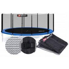 Зовнішня сітка для батута Hop-Sport 488 см на 10 стійок