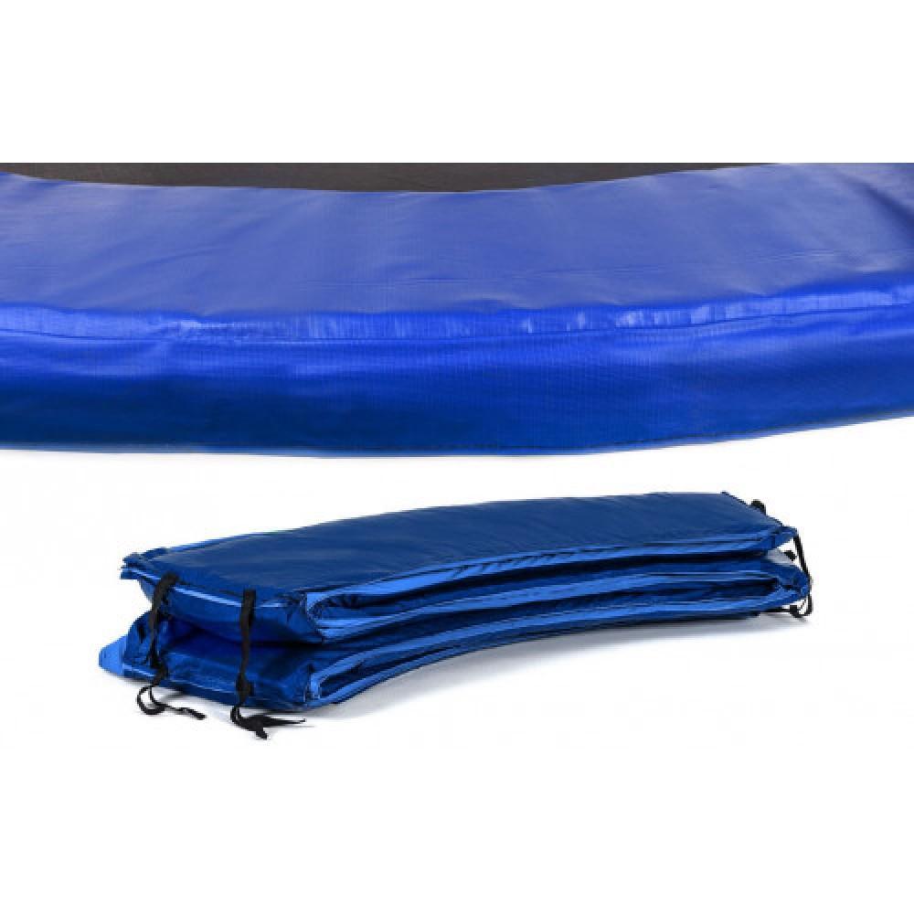 Захисний мат на пружини Hop-Sport 427 см Blue