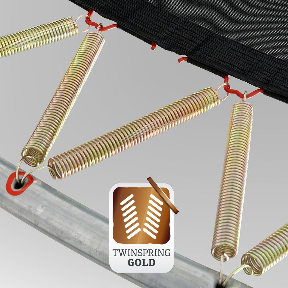 Пружина для батута Berg Twinspring Gold 19 см