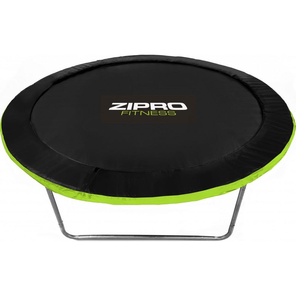 Батут Zipro Jump Pro 312 см з зовнішньою сіткою і драбинкою