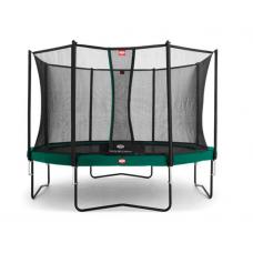 Батут Berg Champion Green 380 см із сіткою Comfort
