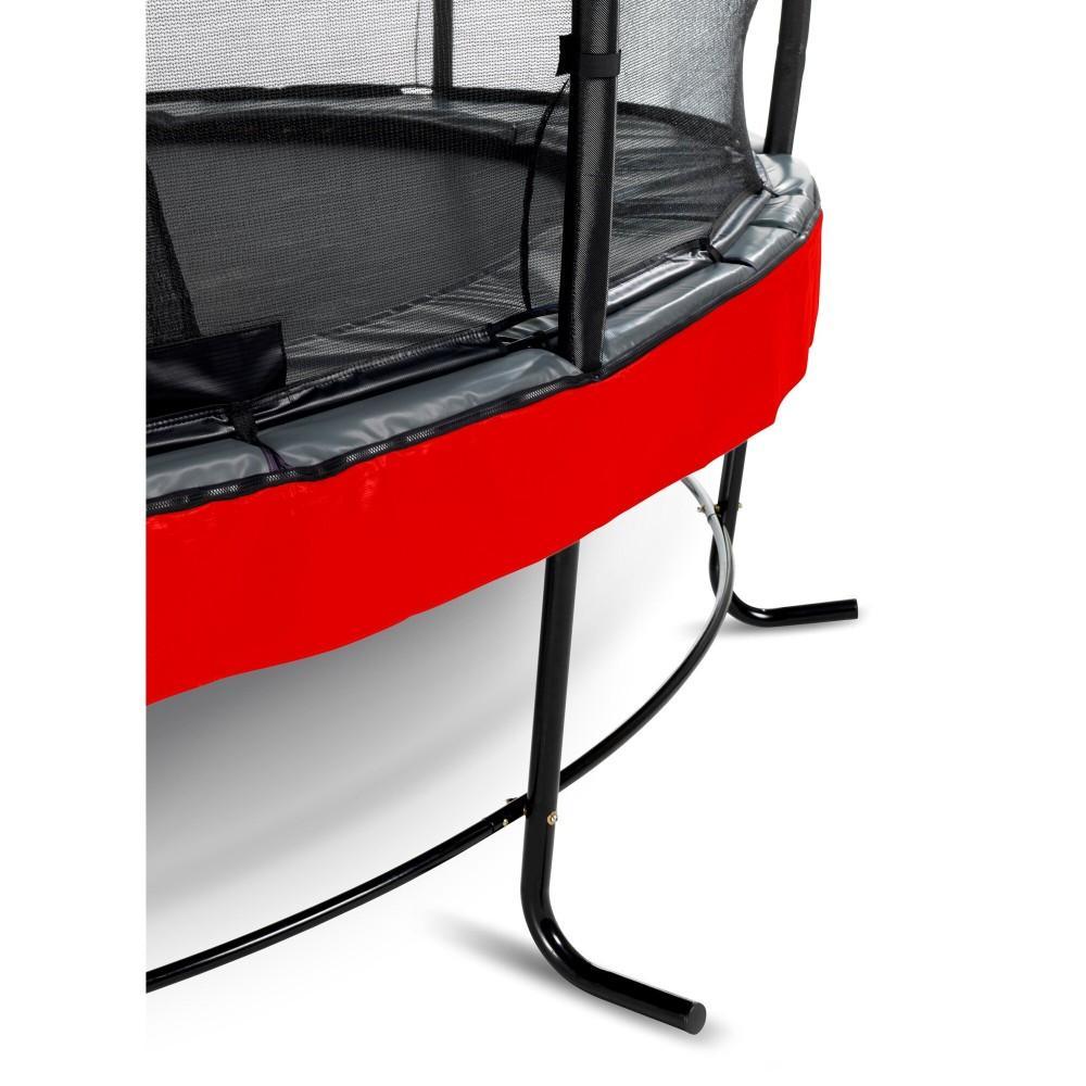 Батут Exit Elegant Premium Red 305 см з сіткою Deluxe