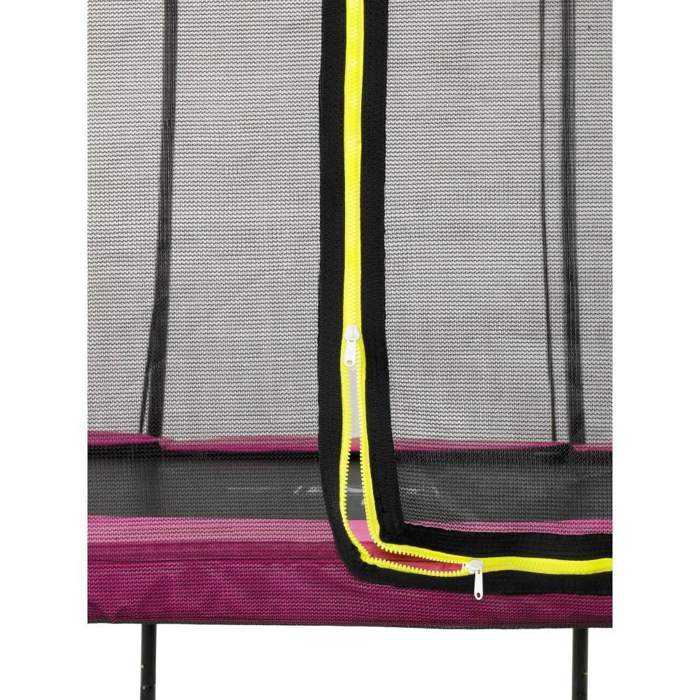Батут Exit Silhouette Pink 305 см з сіткою