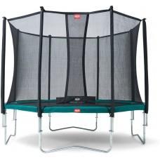 Батут Berg Favorit 380 см Green з сіткою Comfort