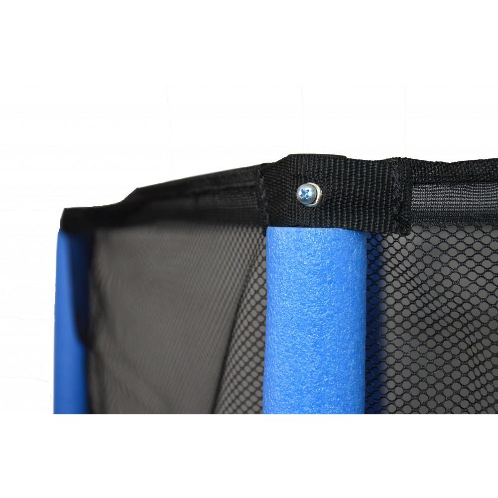 Батут Atleto New Blue 140 см з сіткою