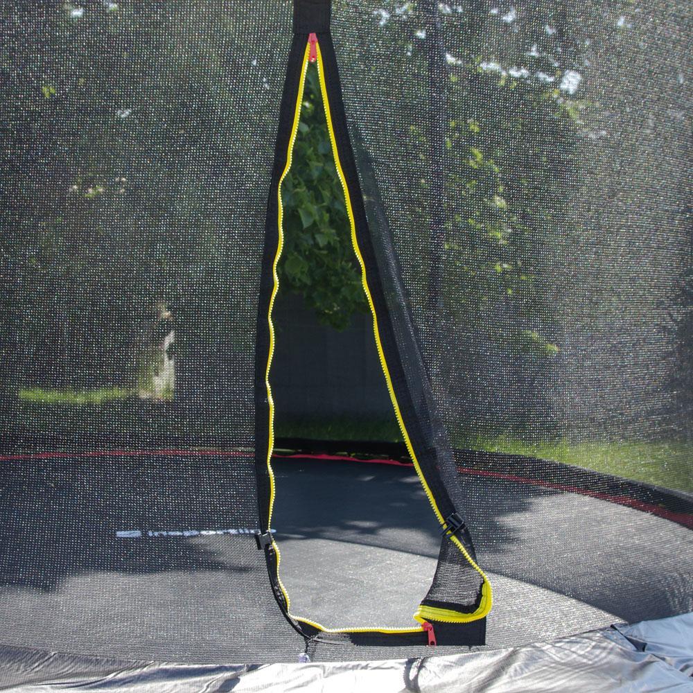 Батут inSPORTline Flea 183 см з сіткою і драбинкою