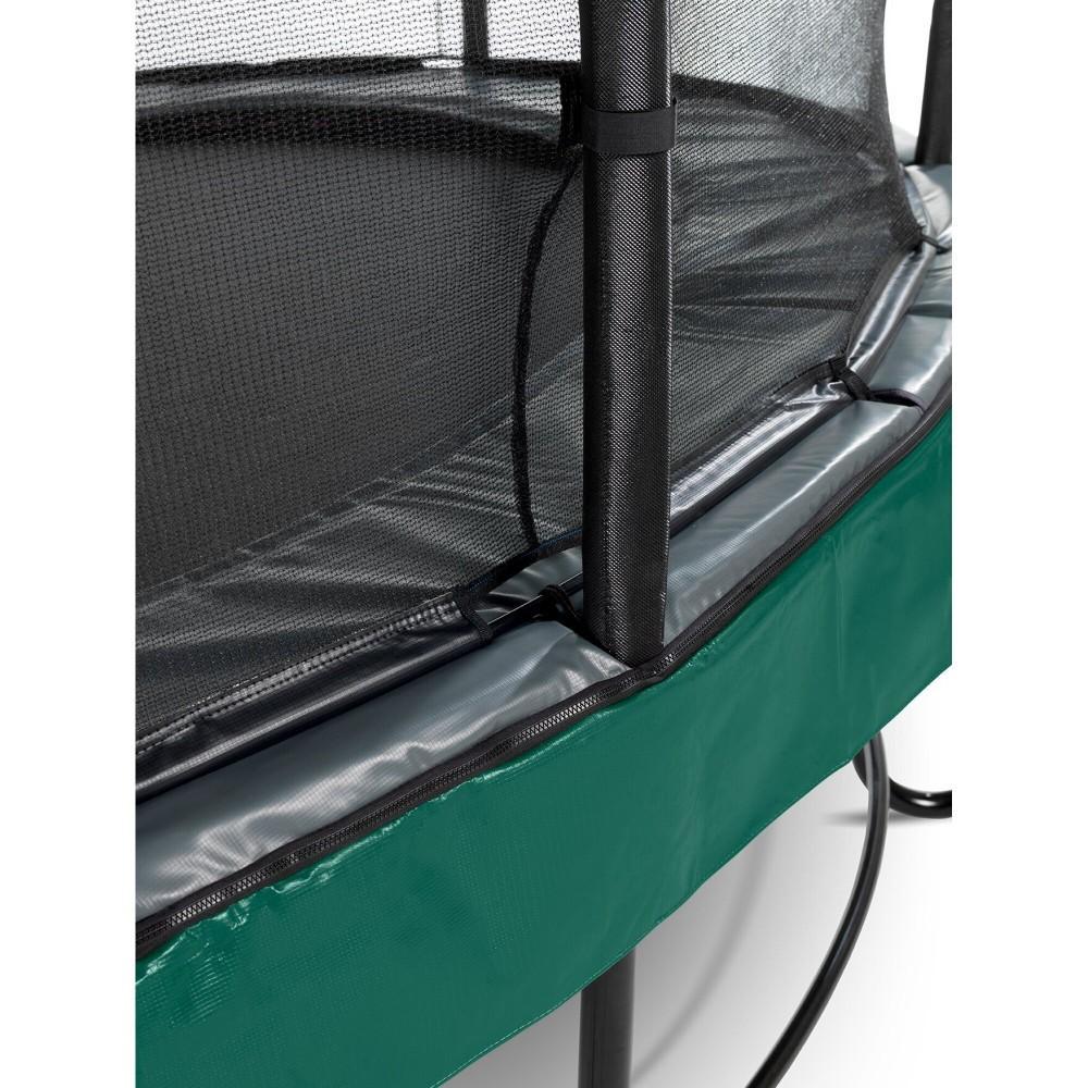 Батут Exit Elegant Premium Green 366 см з сіткою Deluxe