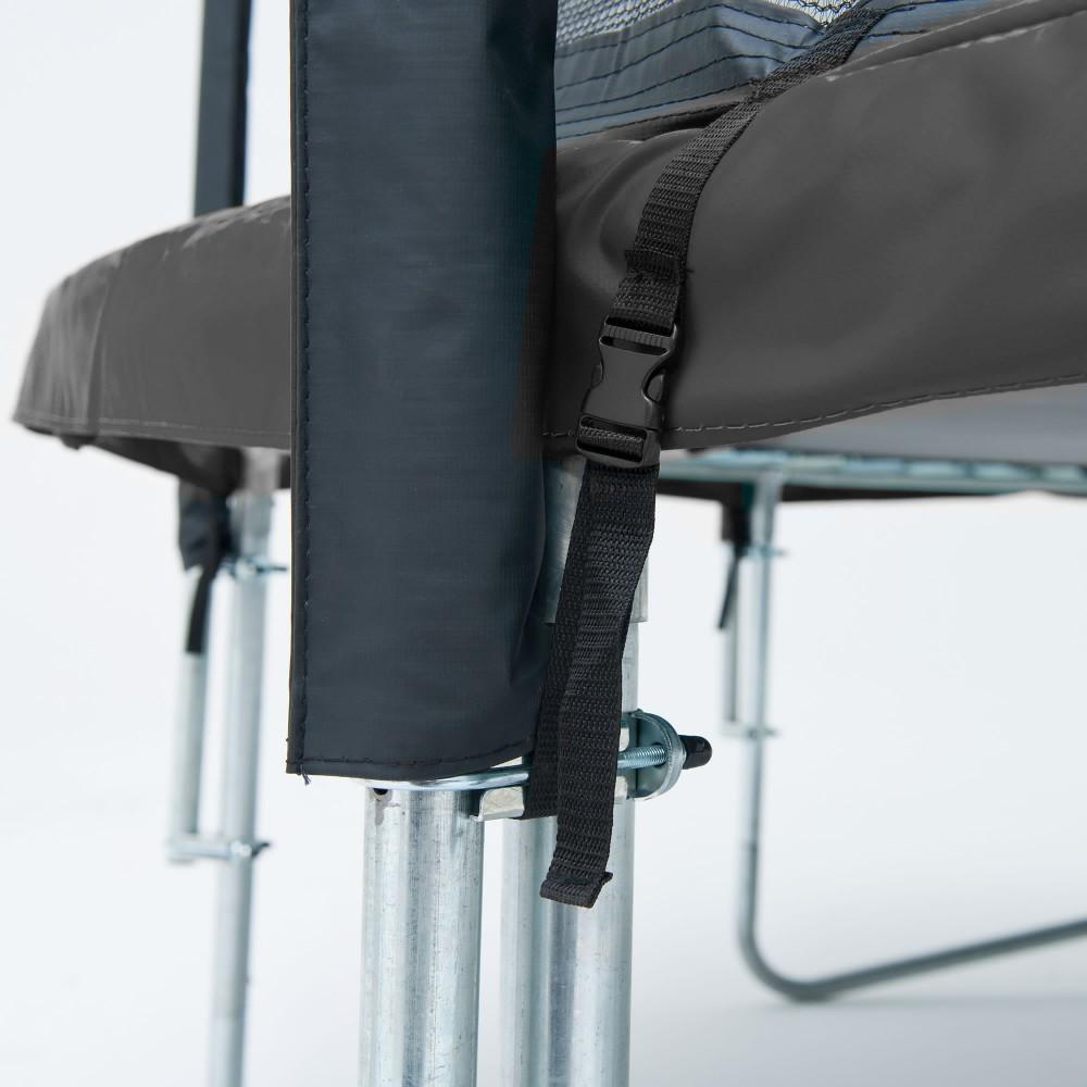 Батут Berg Favorit 380 см Grey з сіткою Comfort