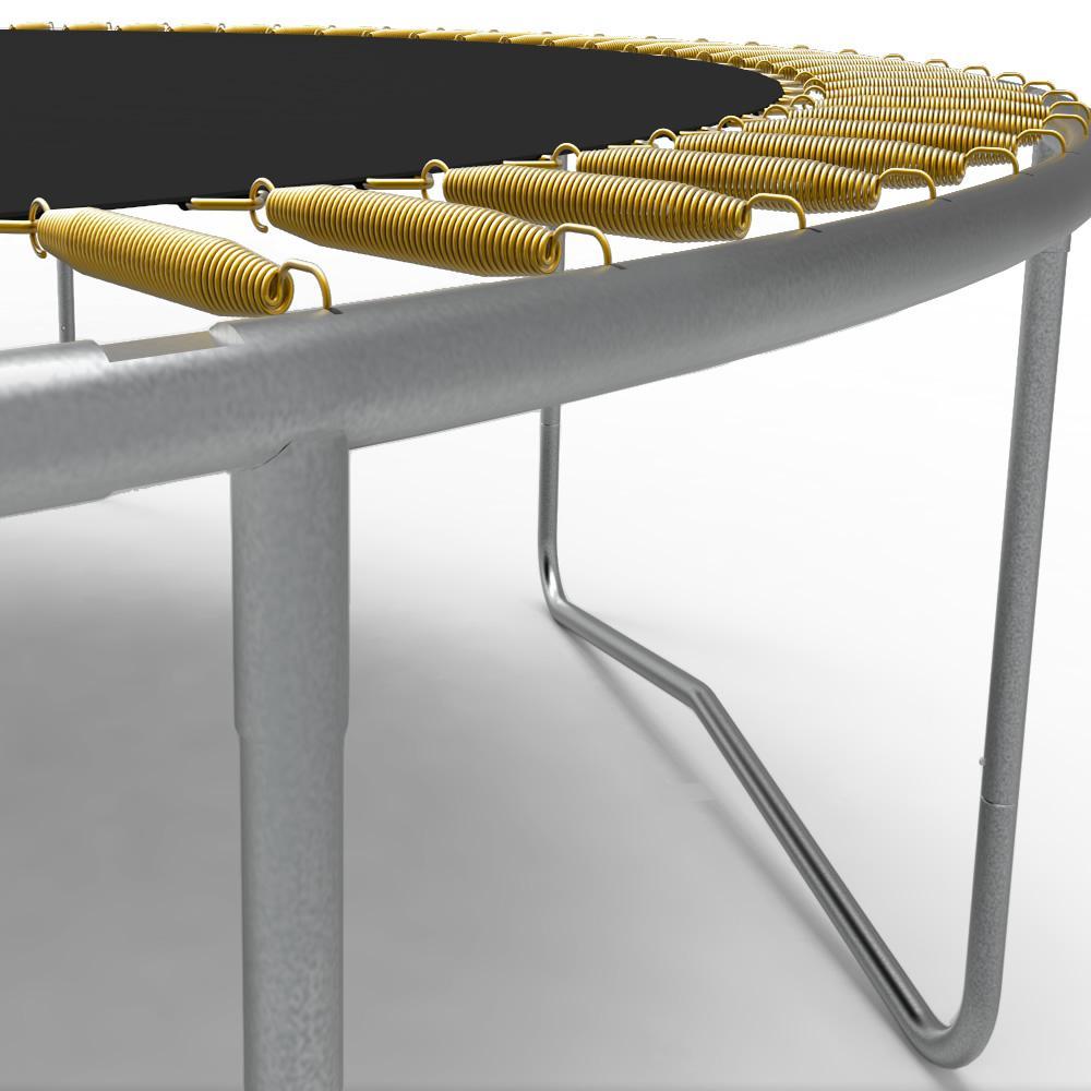 Батут Berg Favorit 430 см Grey Levels з сіткою Comfort