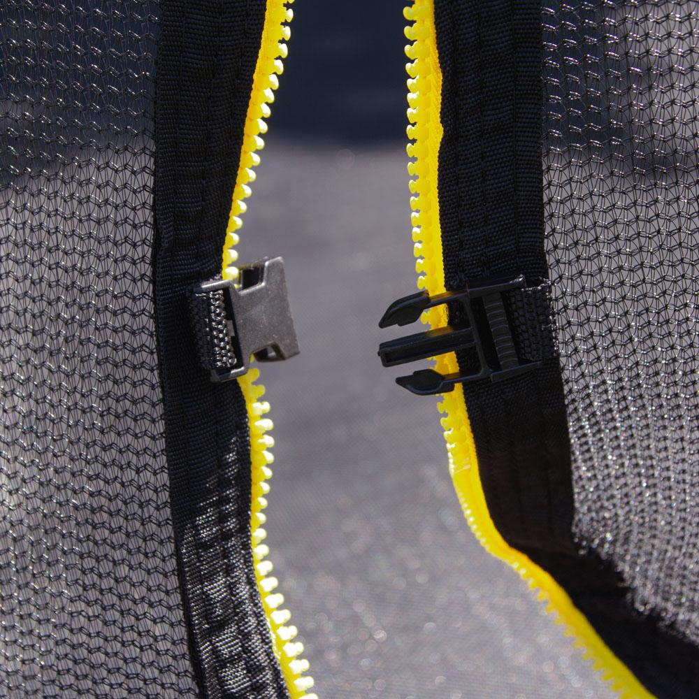 Батут inSPORTline Flea 366 см з сіткою і драбинкою
