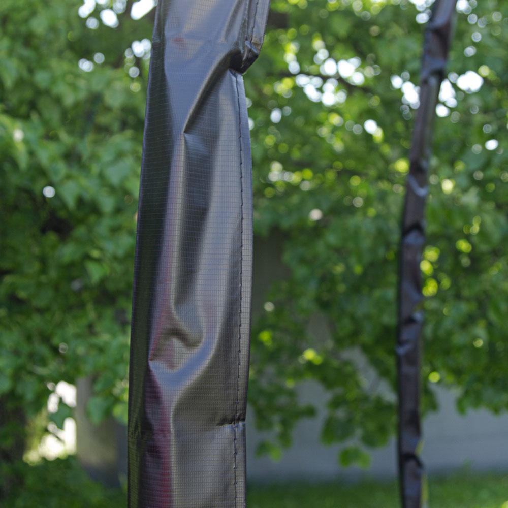 Батут inSPORTline Flea 430 см з сіткою і драбинкою