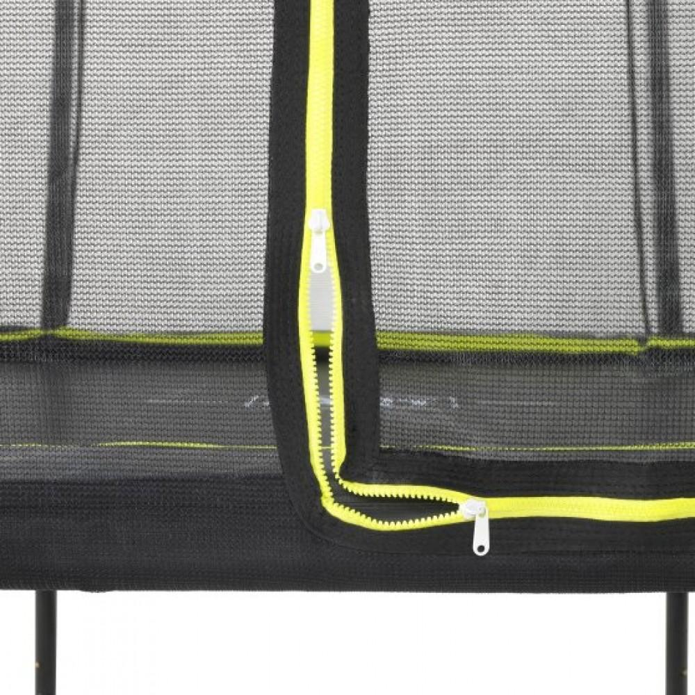 Батут Exit Silhouette Black 153x214 см з сіткою