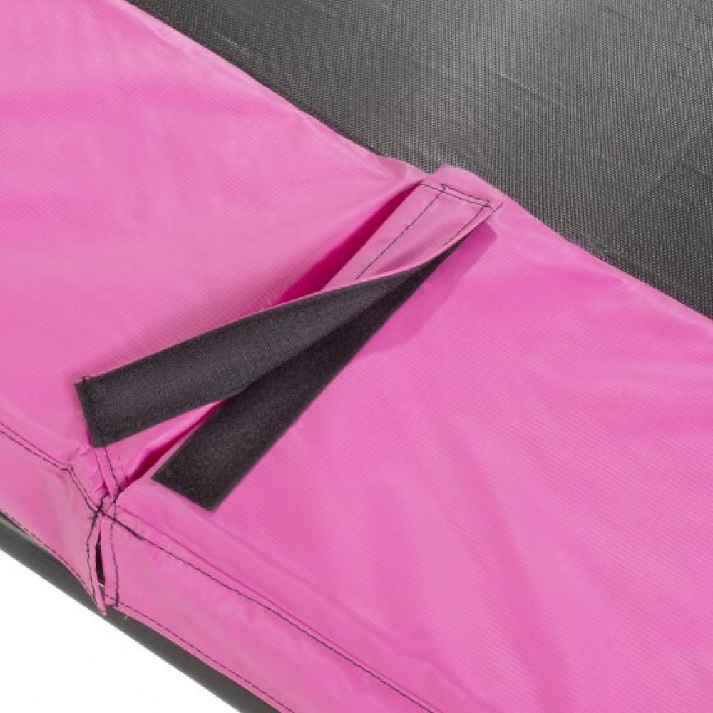 Батут Exit Silhouette Pink 153х214 см з сіткою