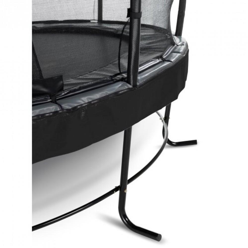 Батут Exit Elegant Premium Black 427 см з сіткою Deluxe