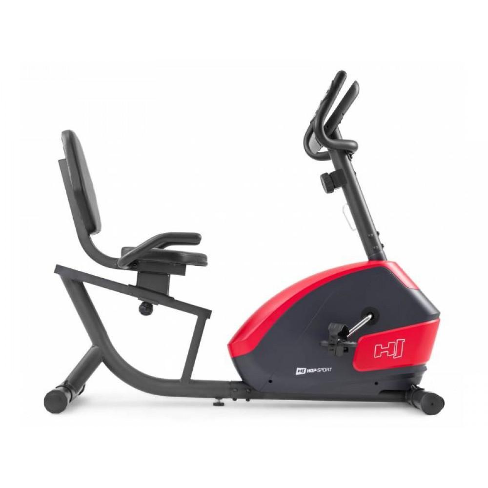 Велотренажер Hop-Sport 035L Solo Black/Red
