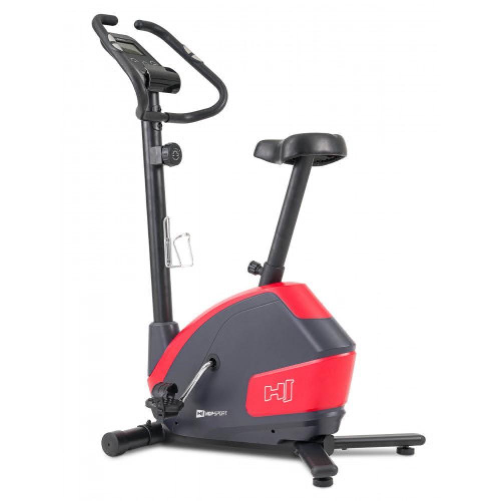 Велотренажер Hop-Sport 035H Leaf Black/Red