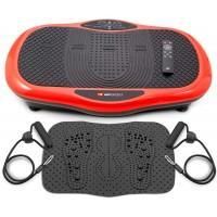 Віброплатформа Hop-Sport 070VS Scout Red з масажним килимком