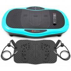Віброплатформа Hop-Sport 070VS Scout Turquoise з масажним килимком