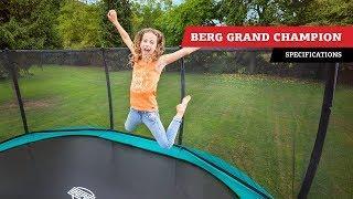 BERG Grand Champion trampoline | specifications