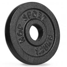 Диск металевий Hop-Sport 1.25 кг