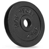 Диск металевий Hop-Sport 2.5 кг