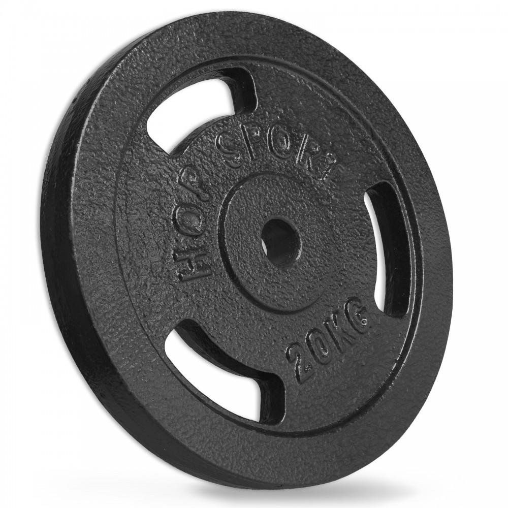 Диск металевий Hop-Sport 20 кг